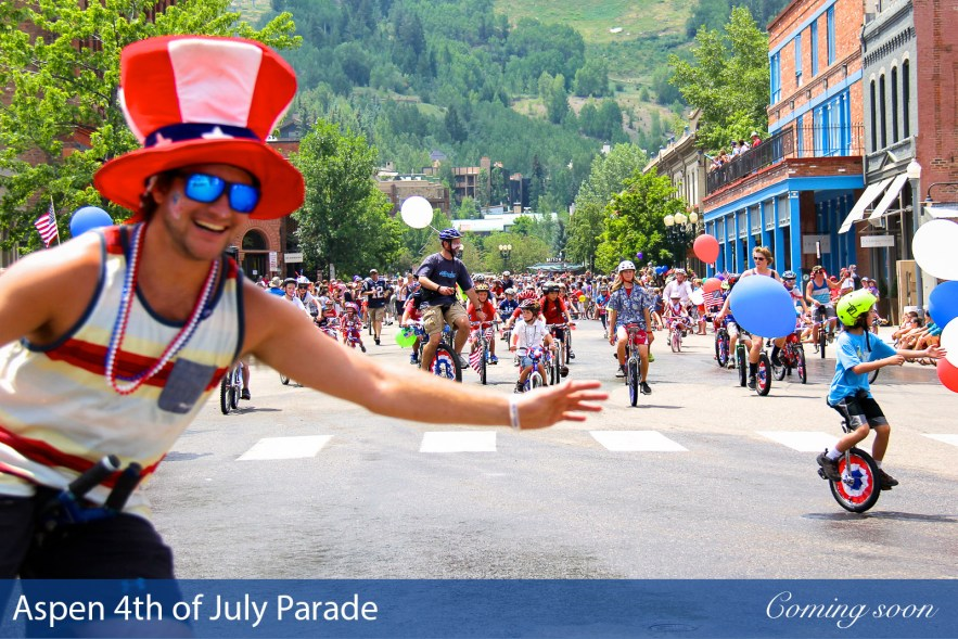 Aspen 4th of July Parade photographs taken by Chasing Light Media