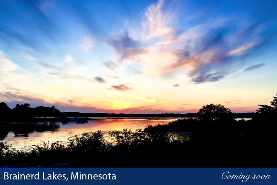 Brainerd Lakes, Minnesota photographs taken by Chasing Light Media