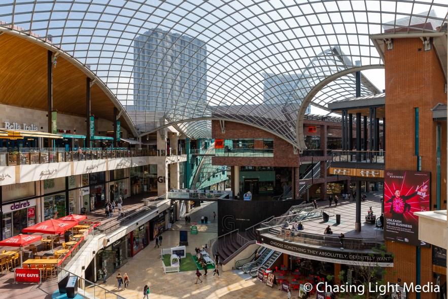 Cabot Circus Shopping Centre, Bristol, England