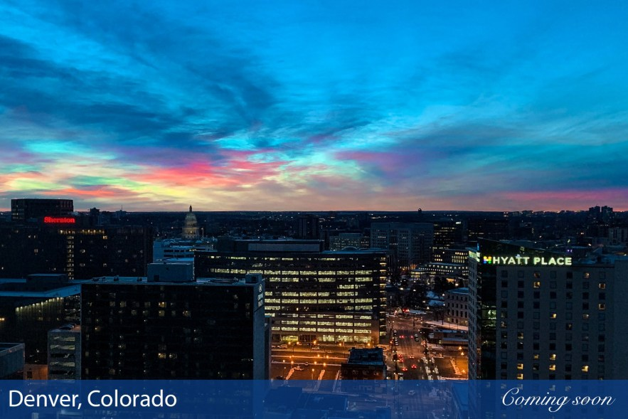 Denver, Colorado photographs taken by Chasing Light Media
