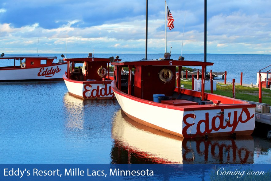 Eddy's Resort, Mille Lacs, Minnesota photographs taken by Chasing Light Media