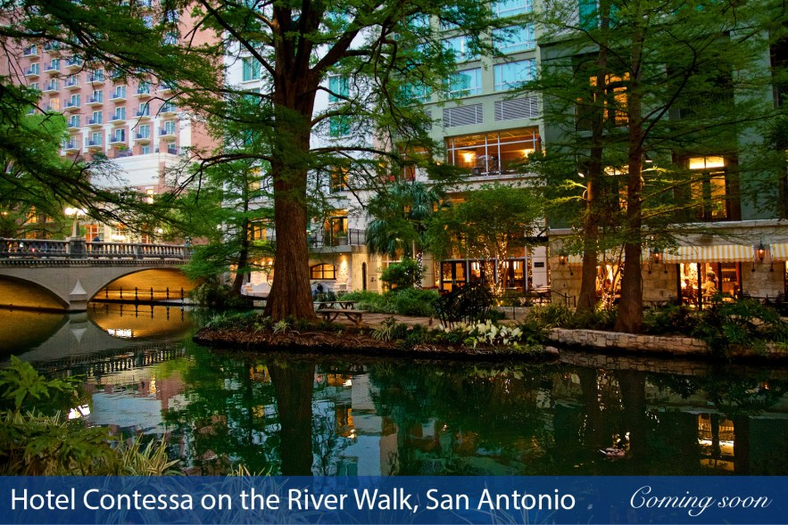 Hotel Contessa on the River Walk, San Antonio photographs taken by Chasing Light Media