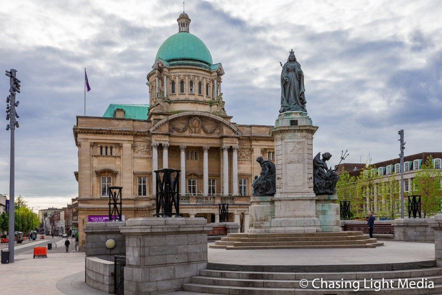 The Punch Hotel at Queen Victoria Square, Hull, England Photo: Greg K. Hull, Cool Adventures © Chasing Light Media