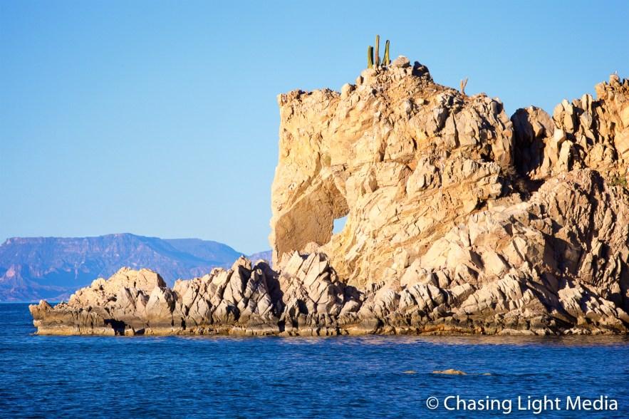 Mustang rock, Isla Santa Catalina, Baja Peninsula, Mexico