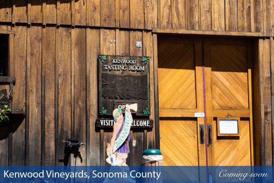 Kenwood Vineyards, Sonoma County photographs taken by Chasing Light Media
