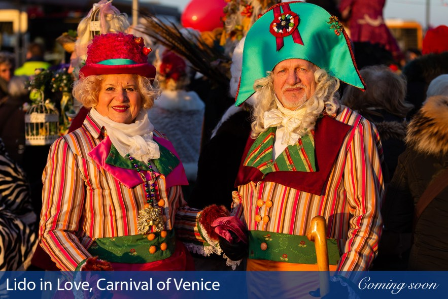 Lido in Love, Carnival of Venice photographs taken by Chasing Light Media