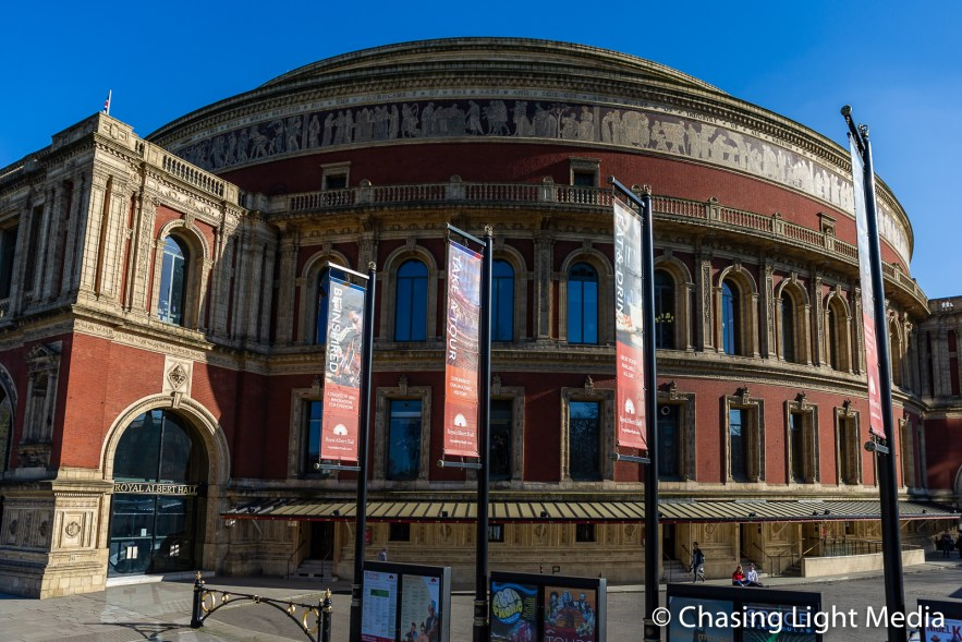Royal Albert Hall at Kensington Gardens, London, England