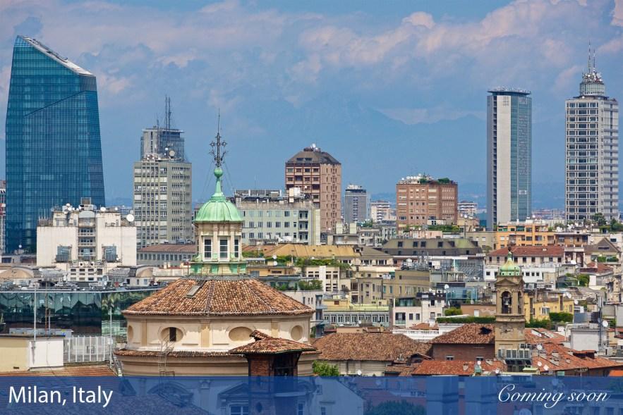Milan, Italy photographs taken by Chasing Light Media