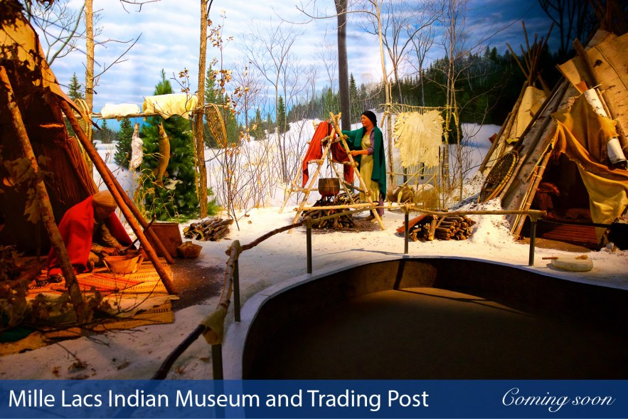 Mille Lacs Indian Museum and Trading Post photographs taken by Chasing Light Media