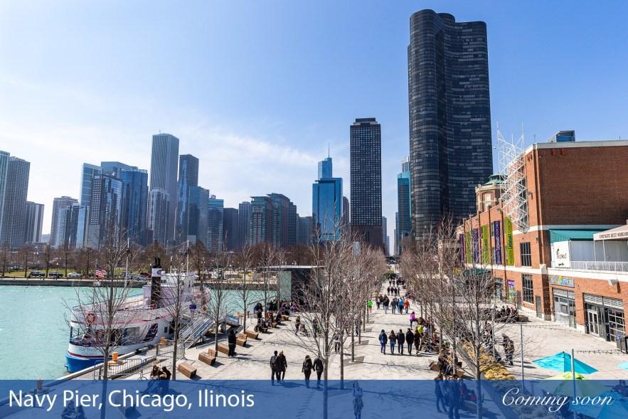 Navy Pier, Chicago photographs taken by Chasing Light Media