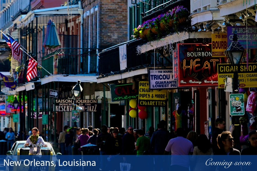 New Orleans, Louisiana photographs taken by Chasing Light Media