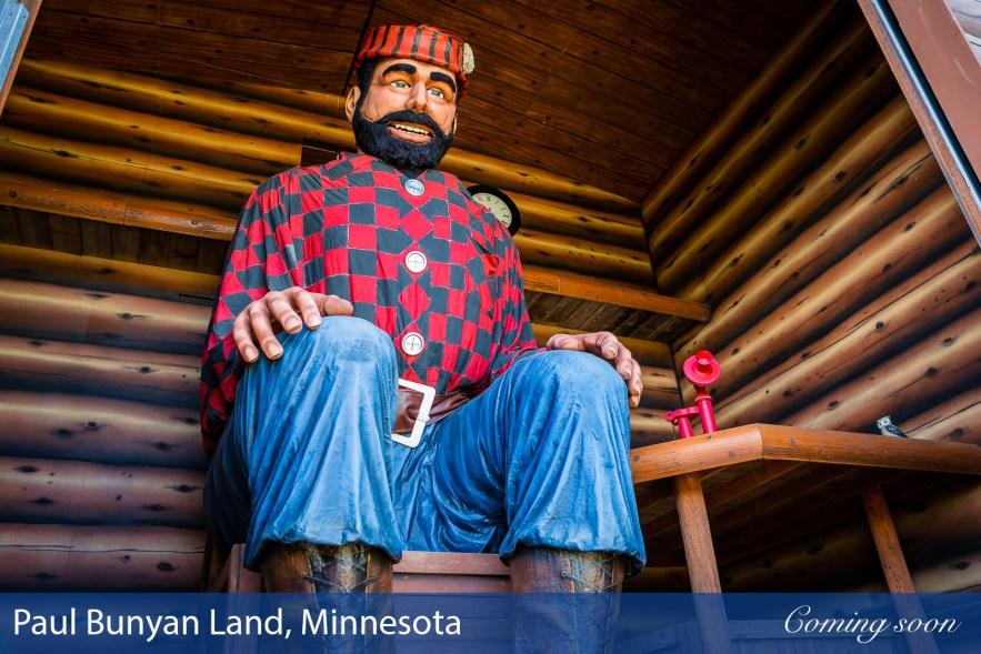 Paul Bunyan Land, Minnesota photographs taken by Chasing Light Media