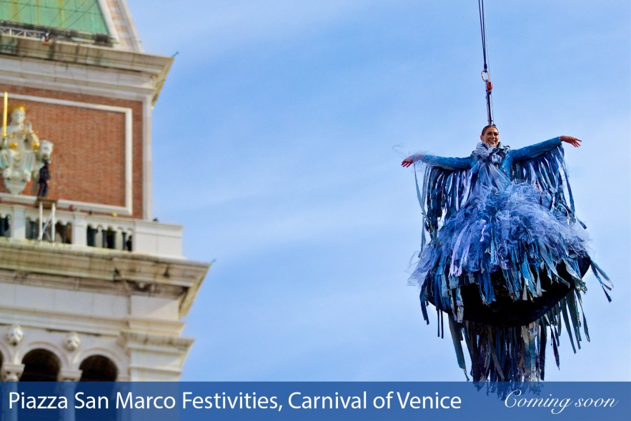 Piazza San Marco Festivities, Carnival of Venice photographs taken by Chasing Light Media