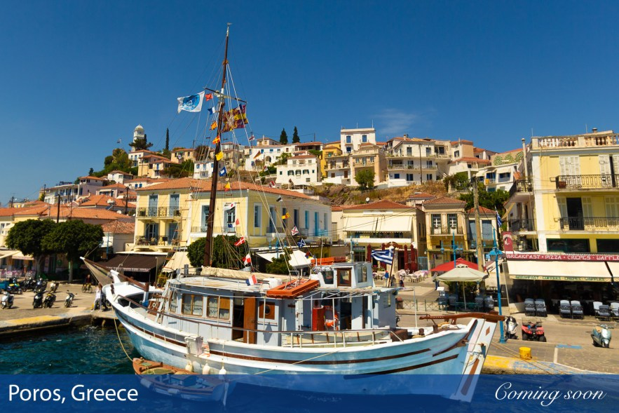 Poros, Greece photographs taken by Chasing Light Media