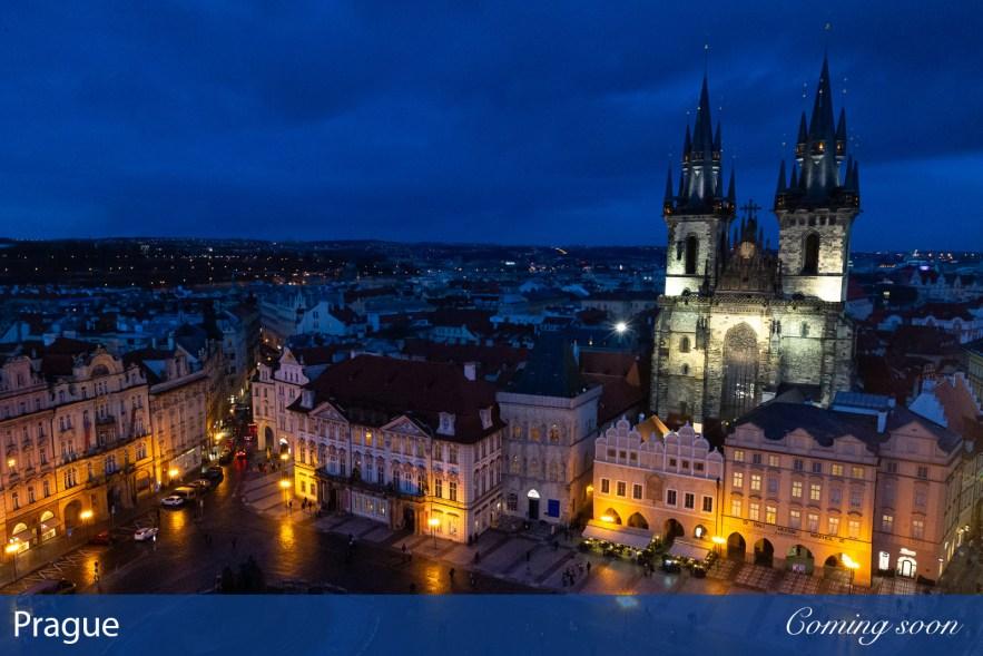 Prague photographs taken by Chasing Light Media
