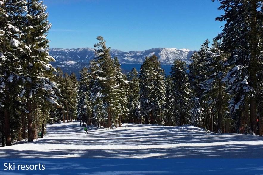 Ski resort photographs taken by Chasing Light Media