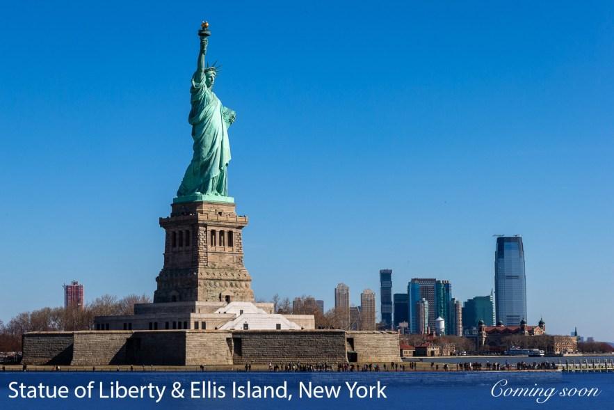 Statue of Liberty & Ellis Island photographs taken by Chasing Light Media