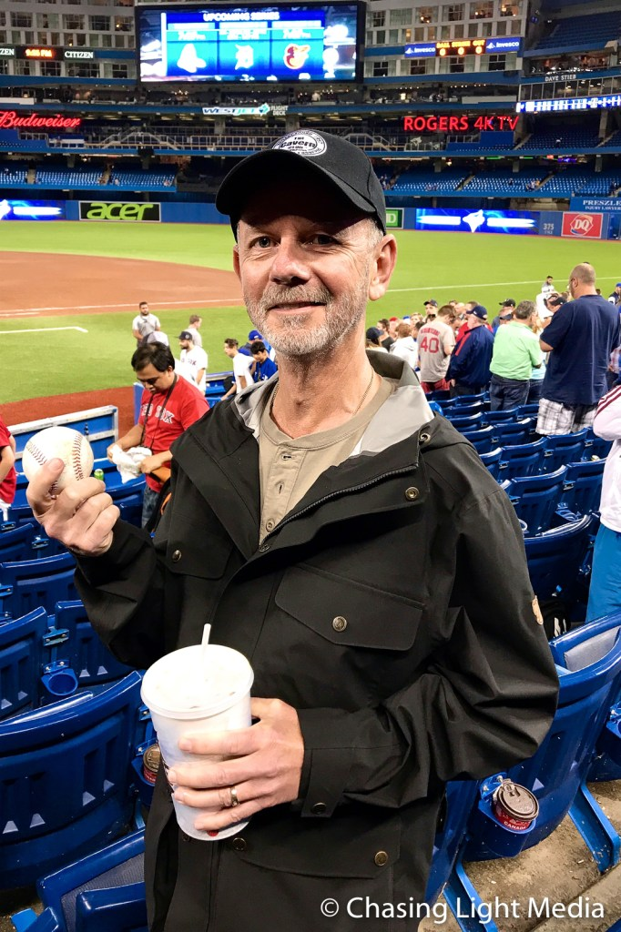 Redsox win again and a souvenir for Greg Hull, Rogers Centre, To