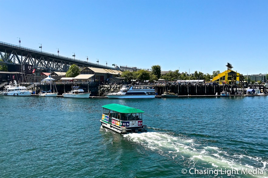 Aquabus taxi from Hornby Vancouver to Granville Island , Vancouver, Canada
