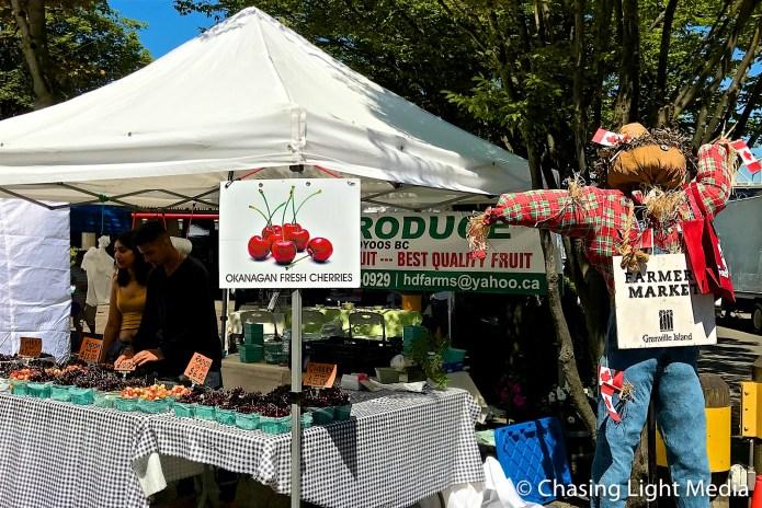 Farmers Market, Granville Island, Vancouver, Canada