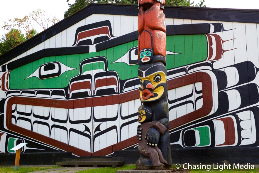 Totem pole, Victoria, British Columbia, Canada