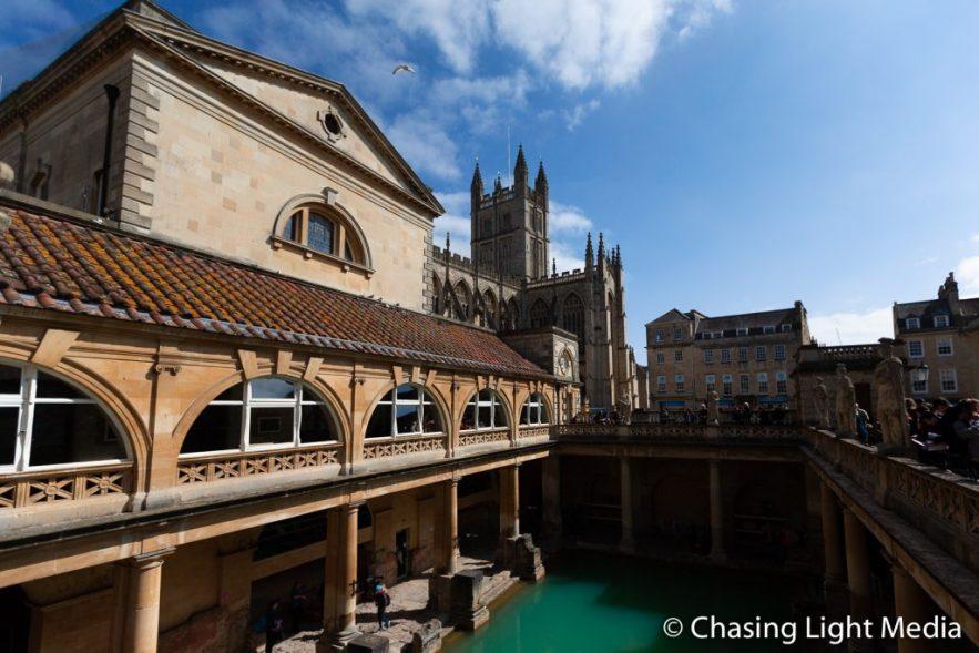 The Great Bath, Roman Baths, Bath, England