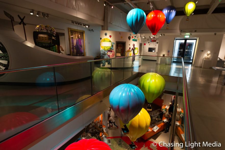 Balloon Exhibit, M Shed