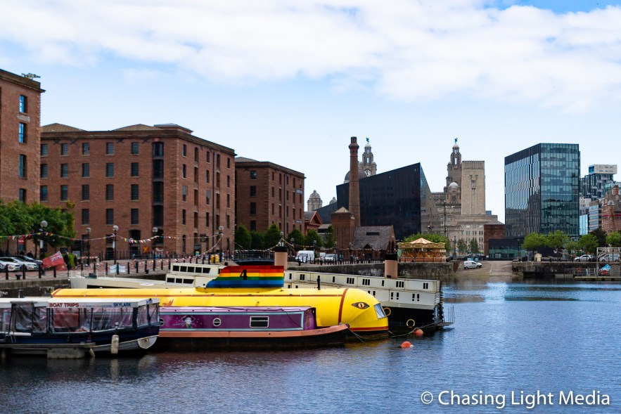 Yellow Submarine, Royal Albert Docks, Liverpool