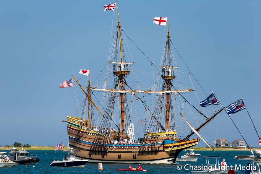 Mayflower II in Plymouth Harbor, Plymouth, Massachusetts