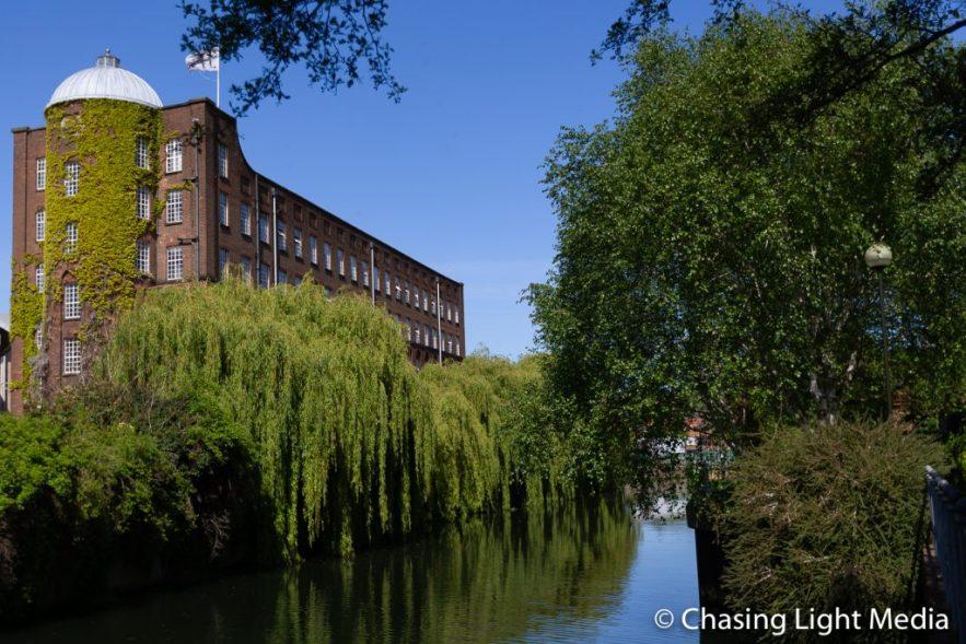 Views from Norwich riverside walking path