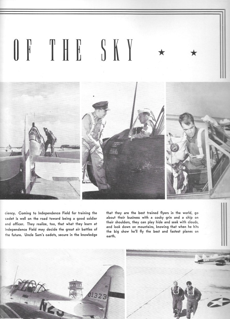 Independence Army Flying School 1943, Soldiers of the Sky
