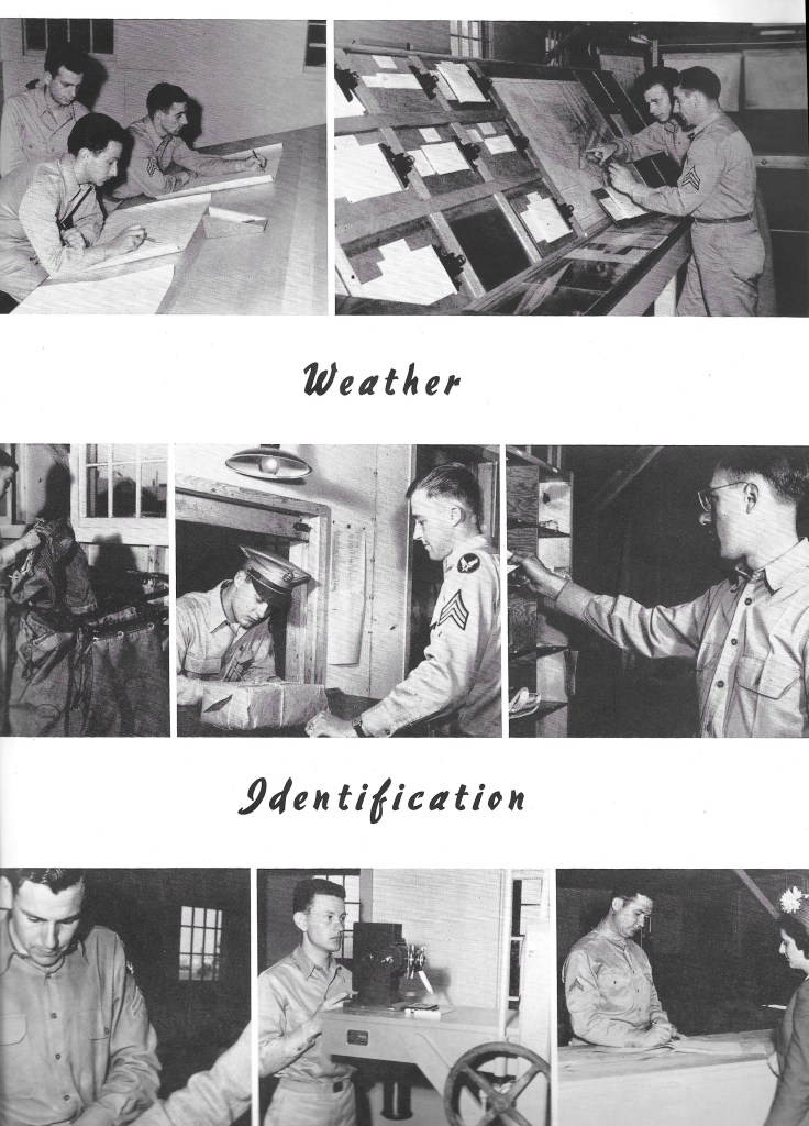Independence Army Flying School 1943, Weather Identification.