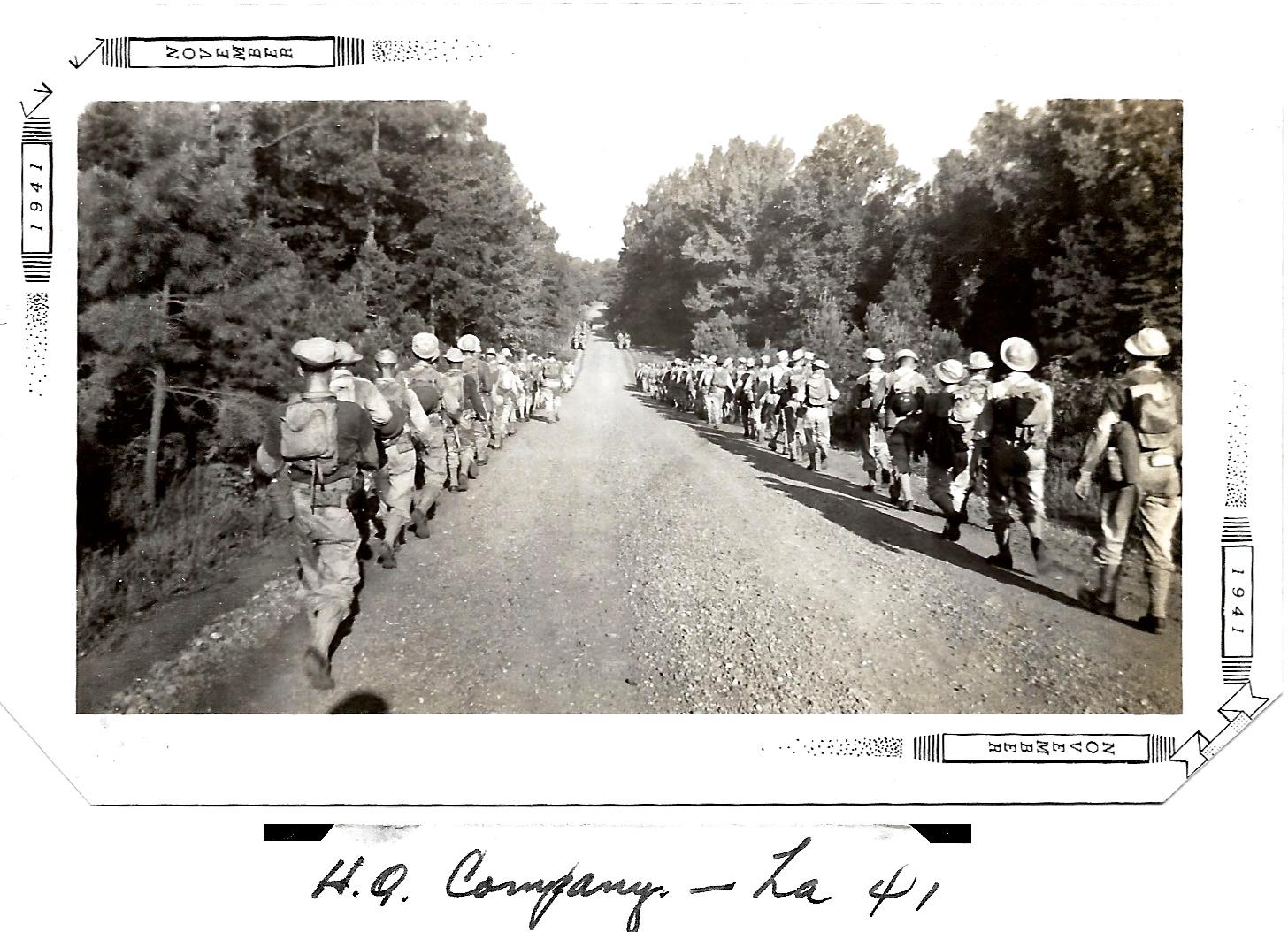1941 WWII Louisiana Maneuvers HQ Company