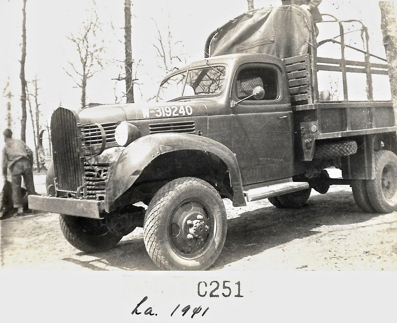 1941 Louisiana Maneuvers Truck
