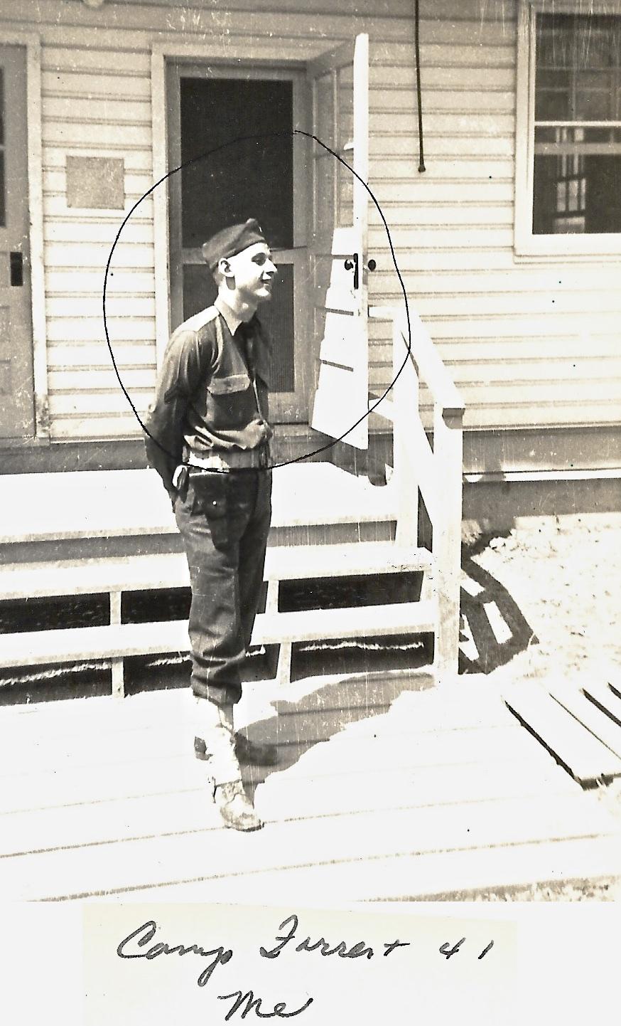 1941 Camp Forrest, Ernie Faulkner