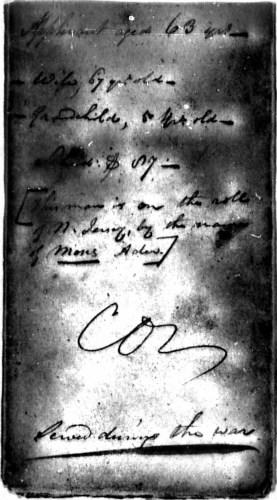 Morris Ader file, p. 11, Revolutionary War Pension and Bounty-Land Warrant Application Files