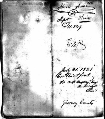 Morris Ader file, p. 6, Revolutionary War Pension and Bounty-Land Warrant Application Files
