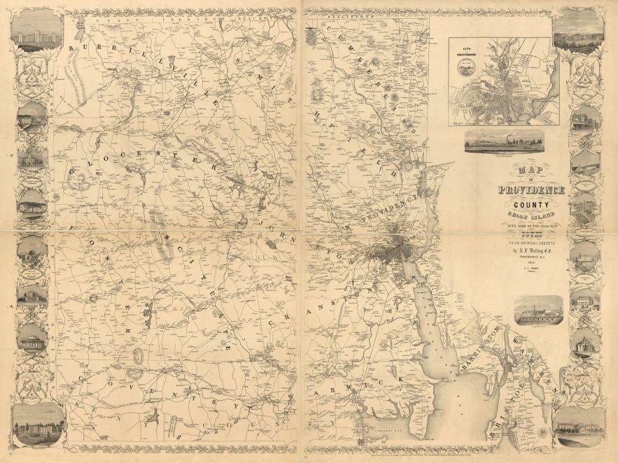Providence County, Rhode Island 1851