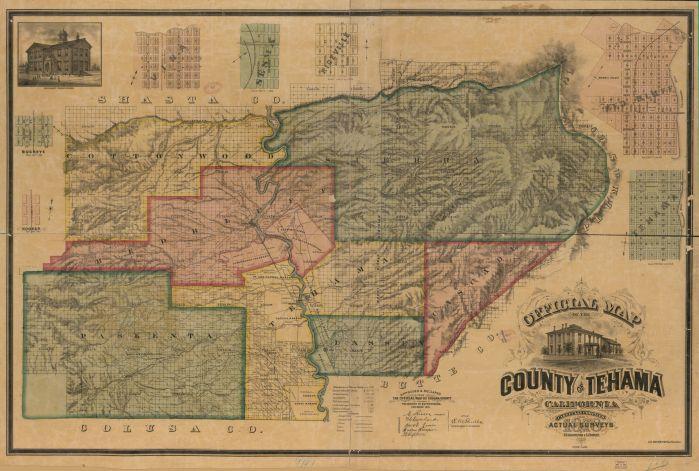 Tehama County, California 1878