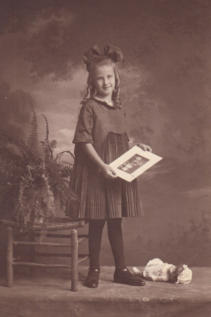 Eleanor Marie Phillis, ca. 1921, Kansas