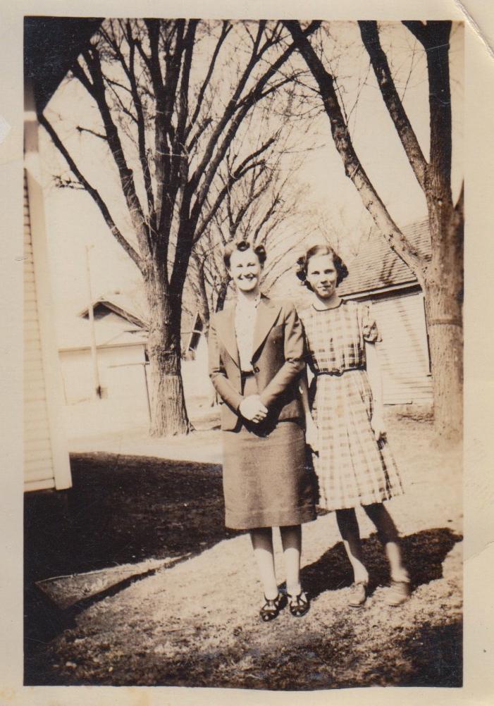 Eleanor Phillis Baird and Evelyn Phillis, ca. 1940