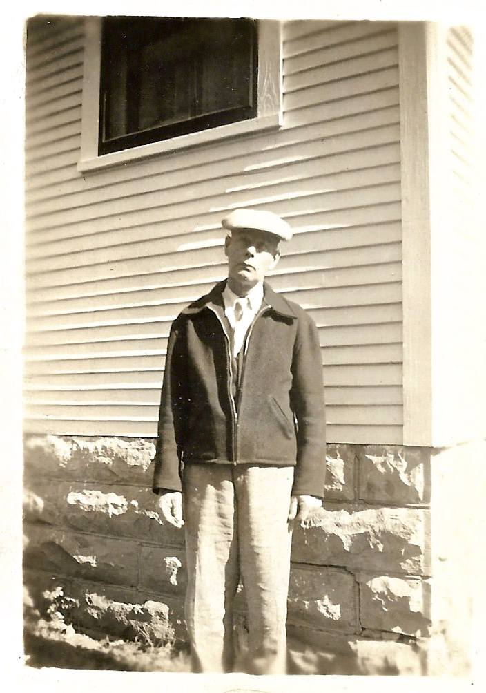 William Walker Phillis, photo dated Oct 1944, Independence, Kansas.