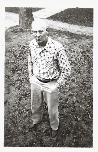 William Walker Phillis, photo dated 1947, Independence, Kansas