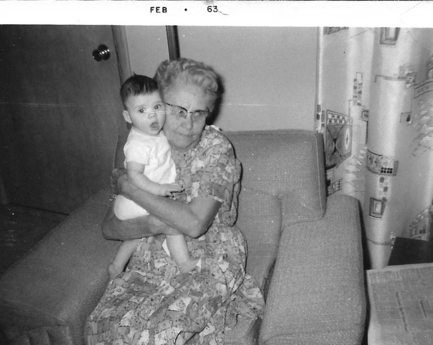 Myrtle Phillis and Kimberli Faulkner, Feb 1963