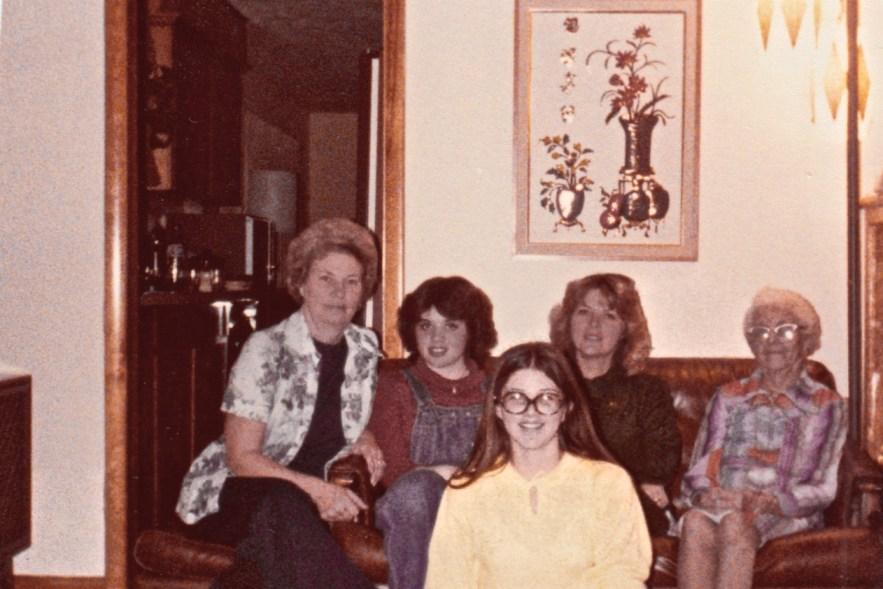 Faulkner Phillis family, Christmas 1976