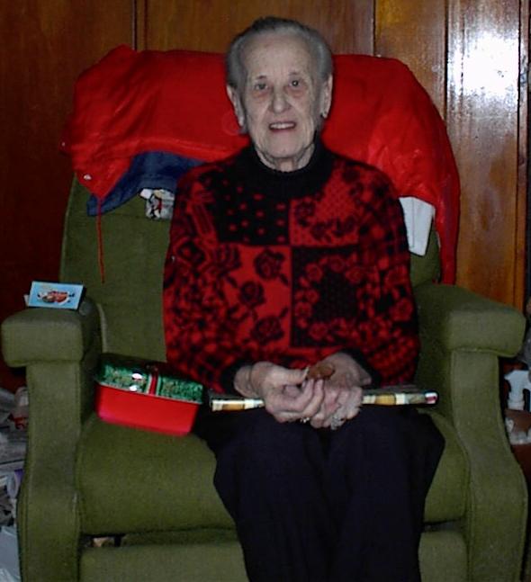 Eleanor Baird, Christmas 1999