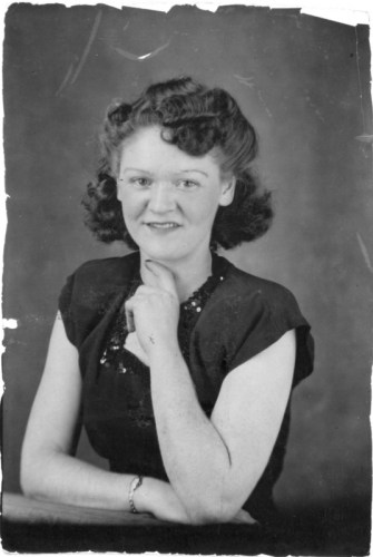 Hazel Bradshaw, ca. 1930s.