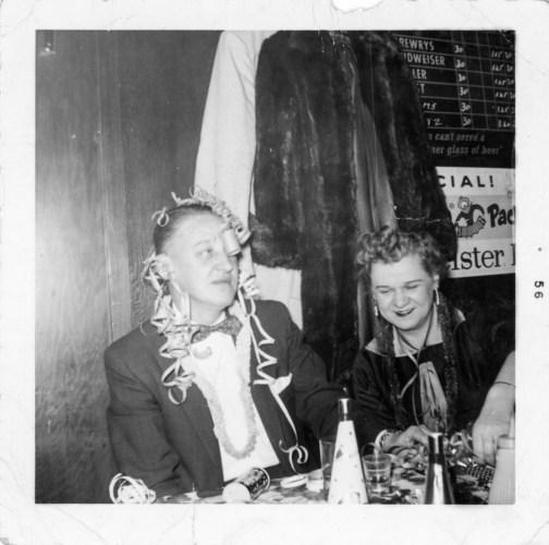 Philip and Hazel Faulkner.1956, Chicago
