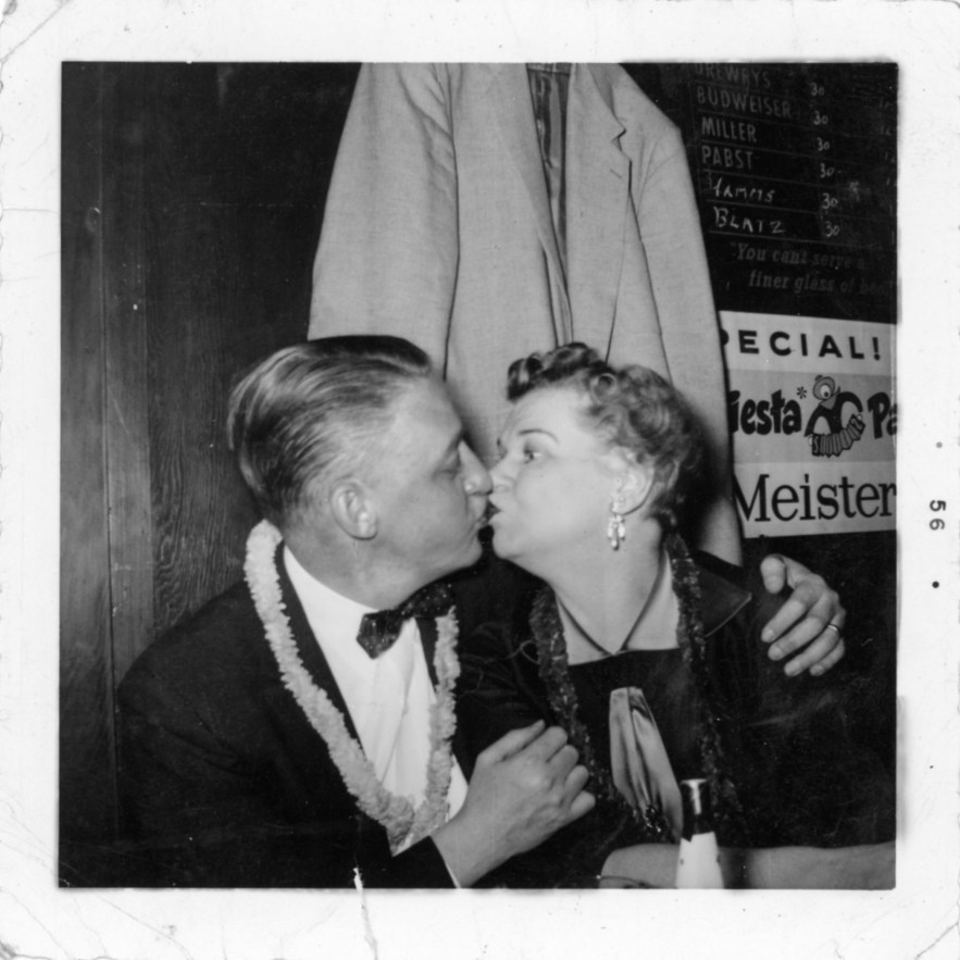 Philip and Hazel Faulkner. 1956, Chicago, Illinois.