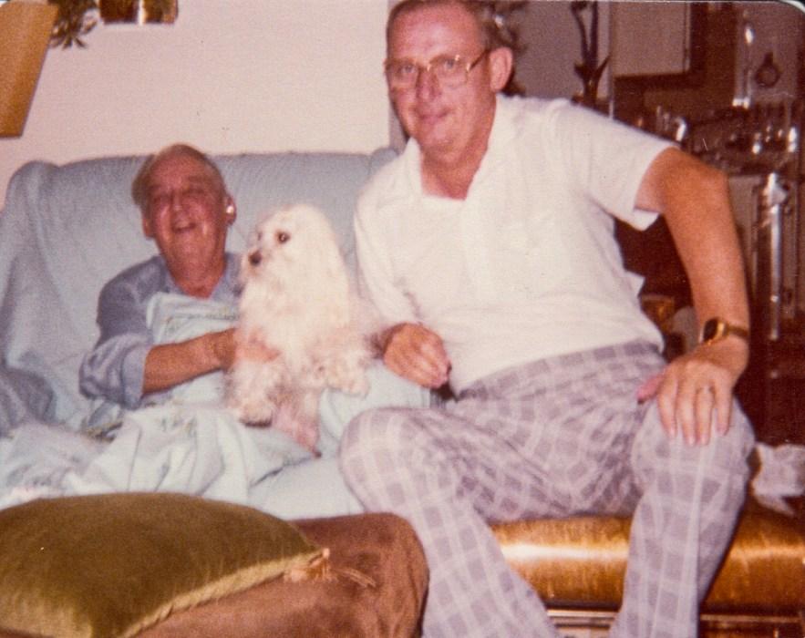 Phil and Ernie Faulkner, ca. 1975, Orlando, Florida.
